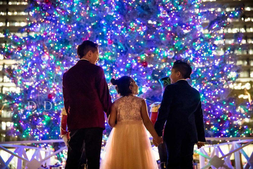 Christmas Tree Family Photography