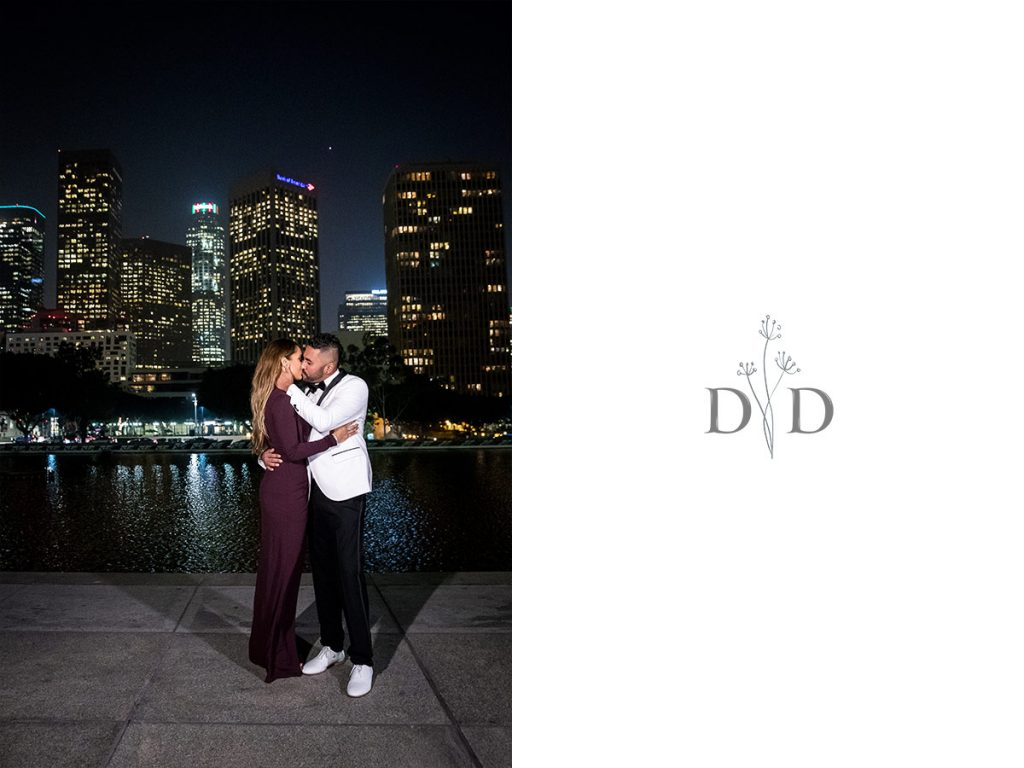 Downtown Los Angeles Romantic Family Photos