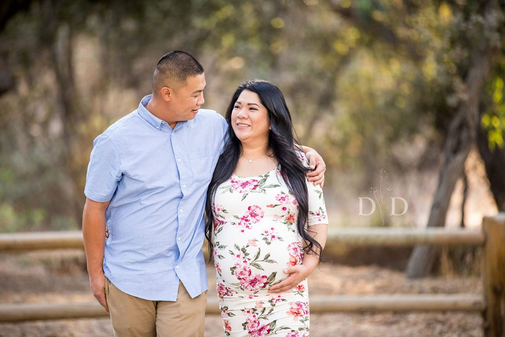 Glendora Maternity Photos Trail