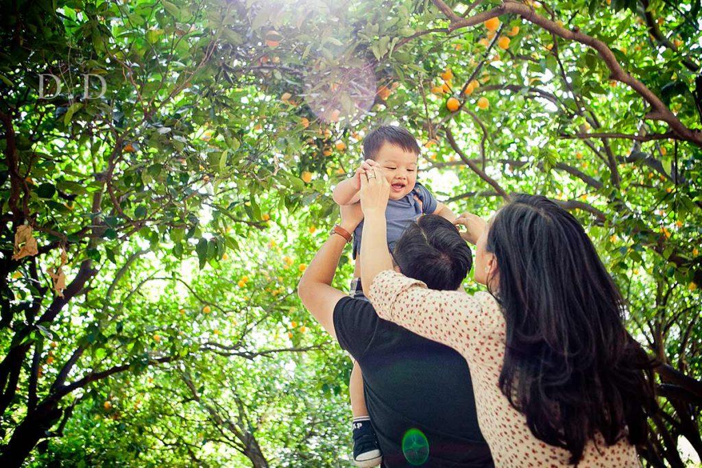 LA Arboretum Family Photography
