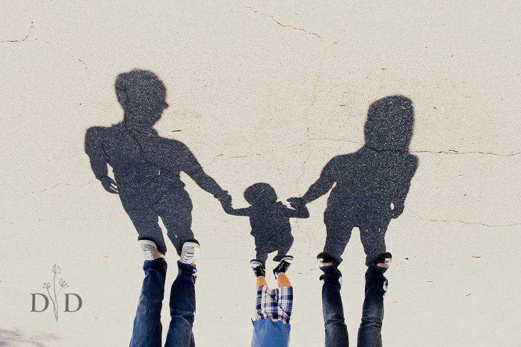 Family Photo Shadow