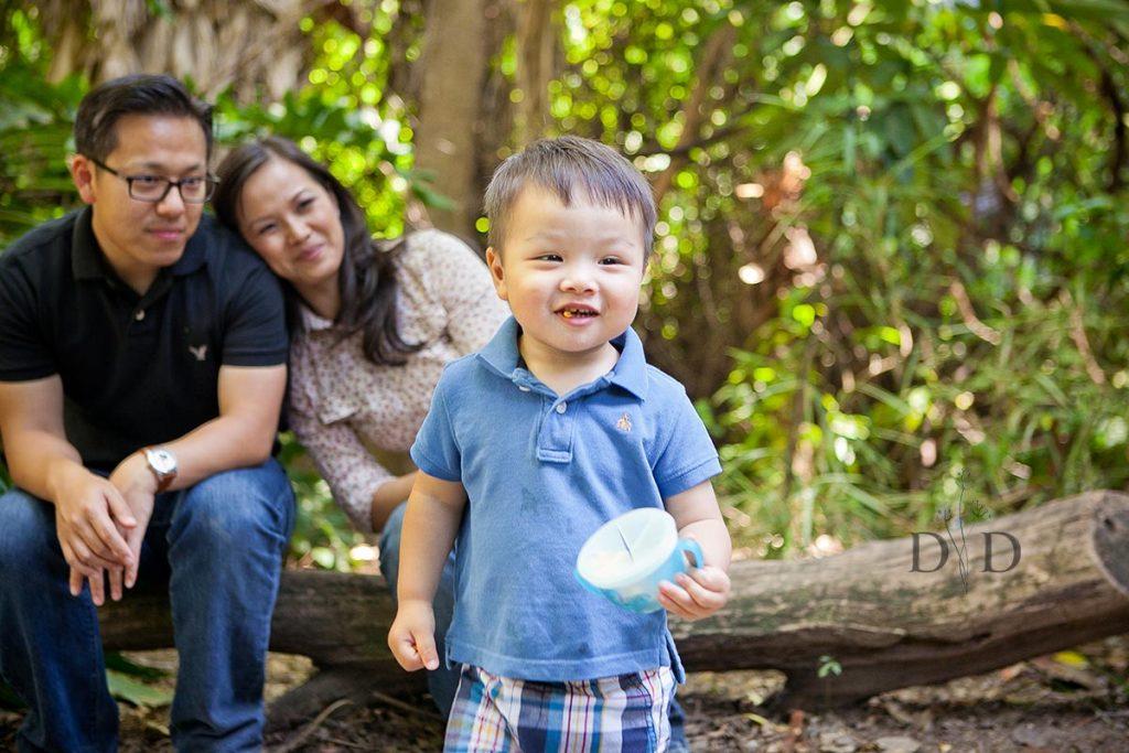 Los Angeles Arboretum Family Photo