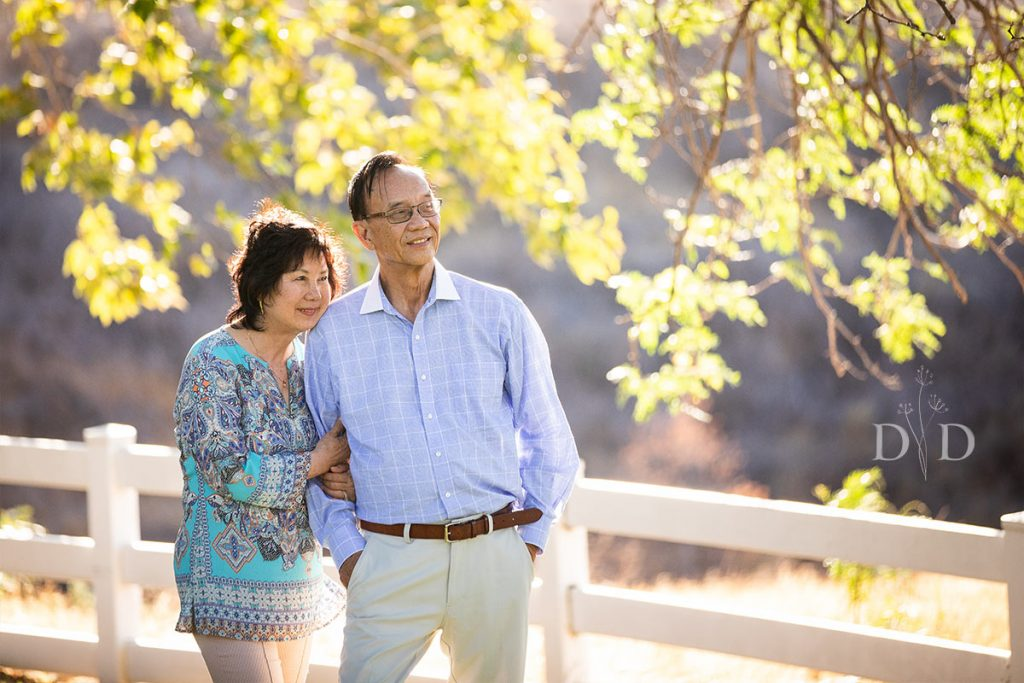 Chino Hills Family Photo of Grandparents