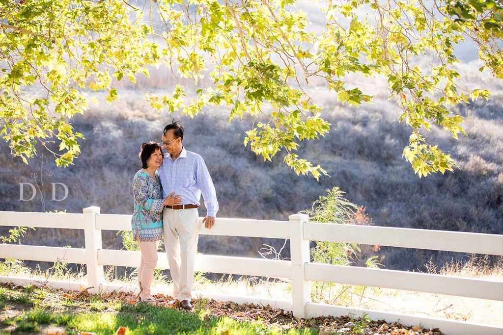 Grandparents Family Photo Chino Hills