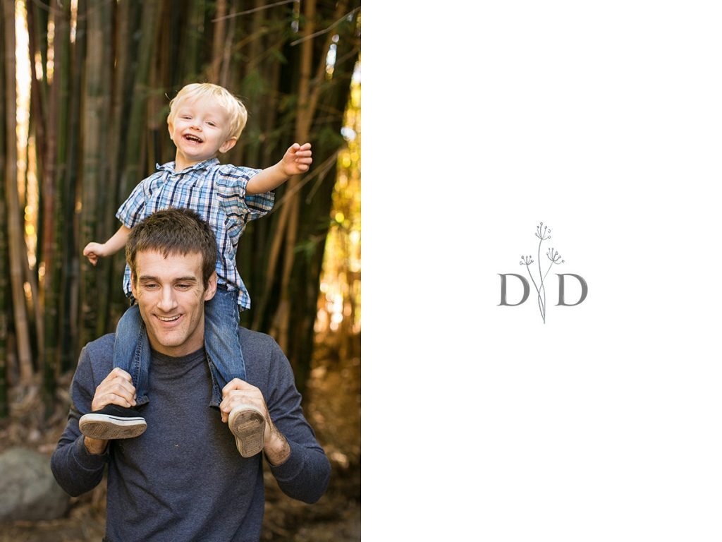 Father and Son Family Photography