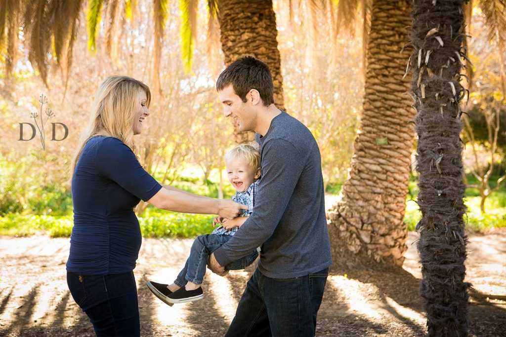 Fullerton Arboretum Family Photos