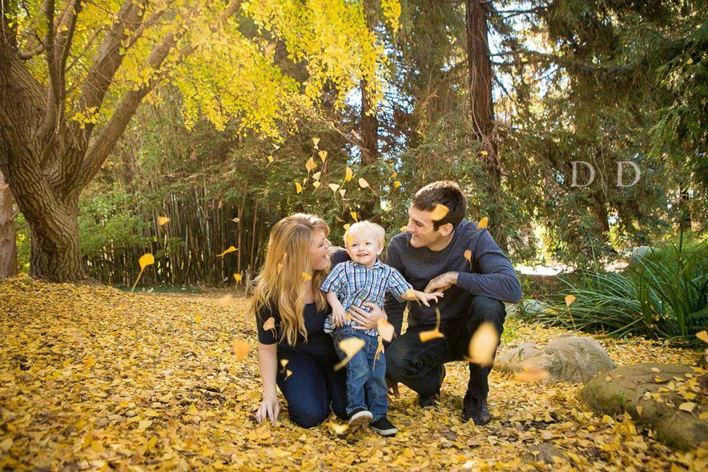 Cal State Fullerton Arboretum Family Photos