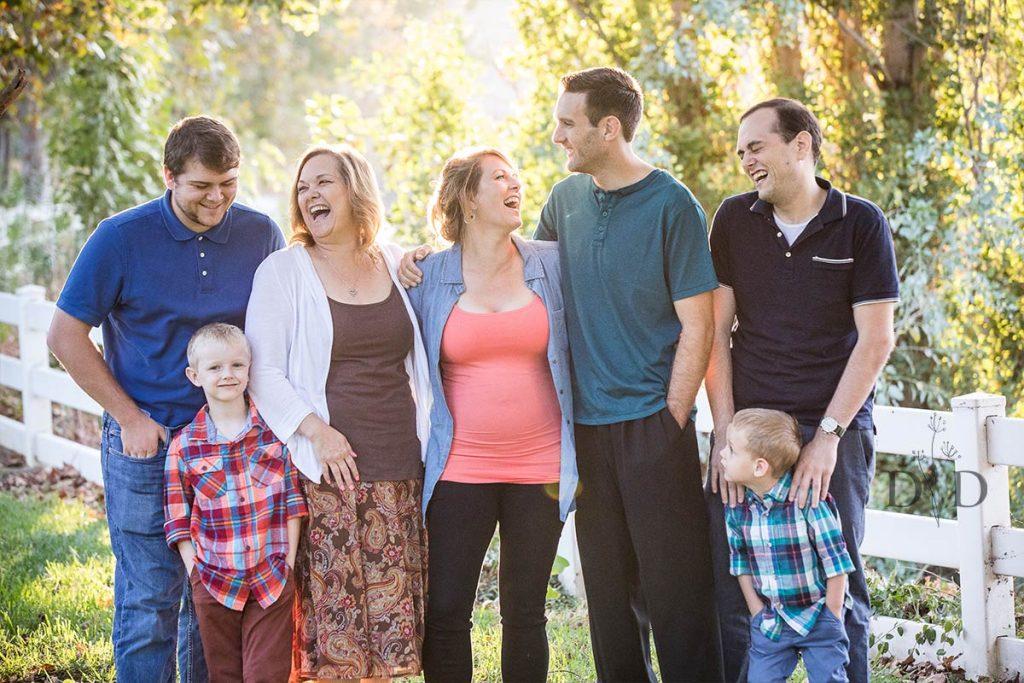 Large Family Photo Chino Hills