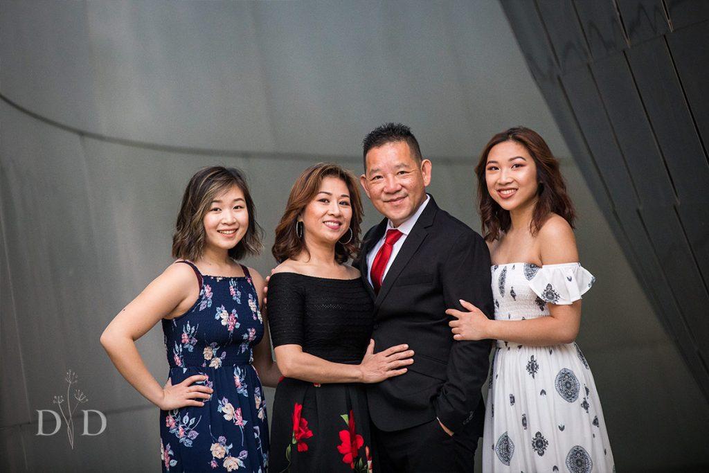 Concert Hall Family Photos