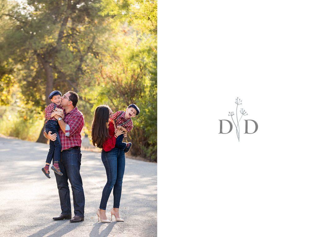 Family Photography in Bonelli Park, San Dimas