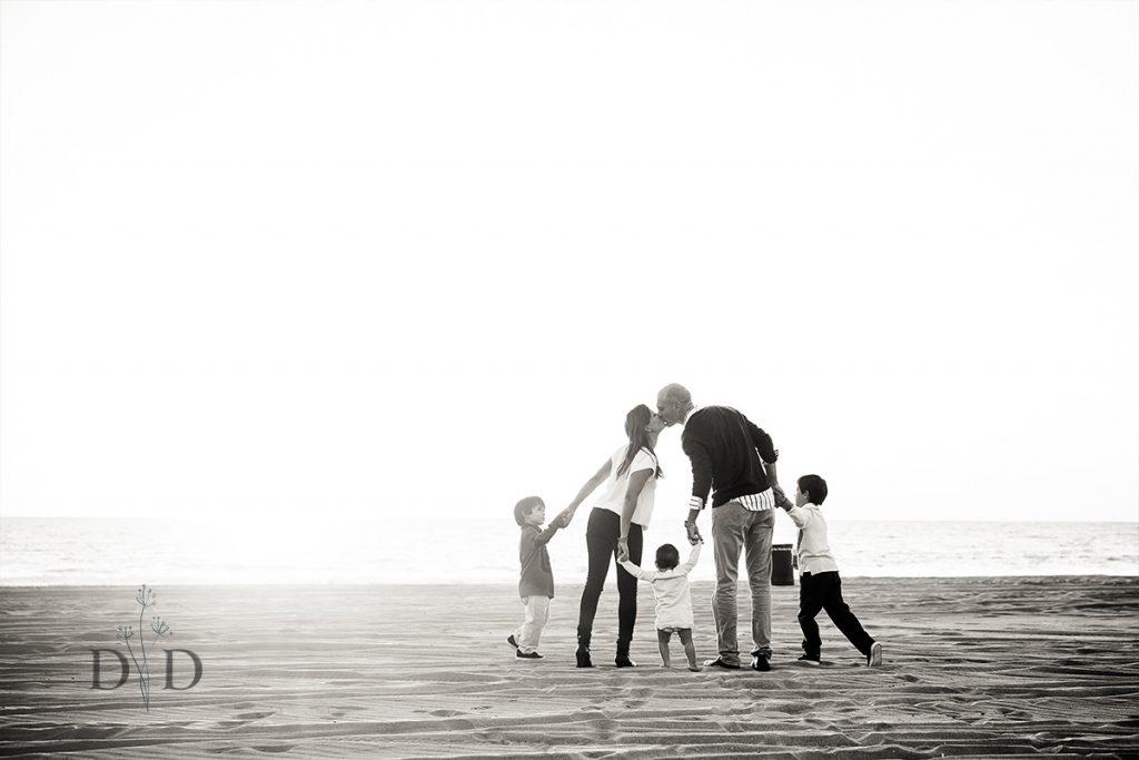 Manhattan Beach Family Photo