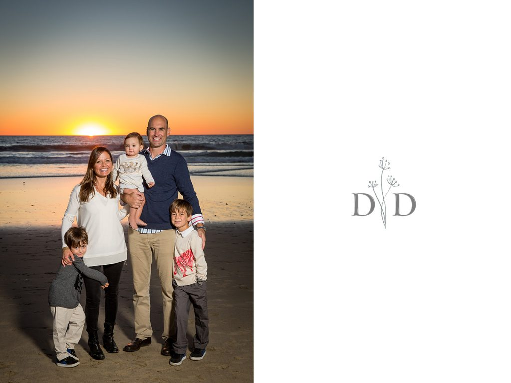 Manhattan Beach Family Photography with Sunset