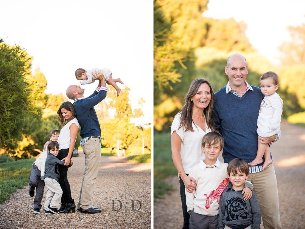 Family Photo with Three Children
