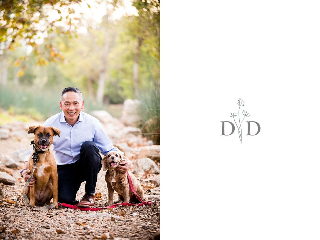 Irvine Family Photography with Dogs