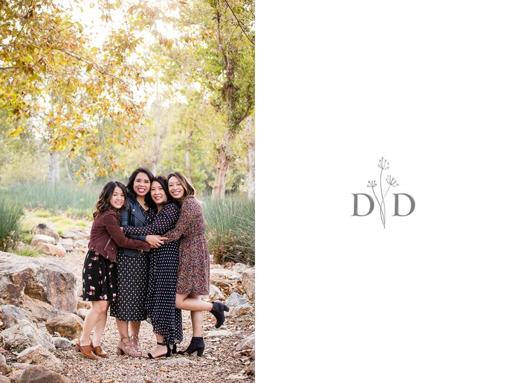 Irvine Family Photography Daughters and Mother