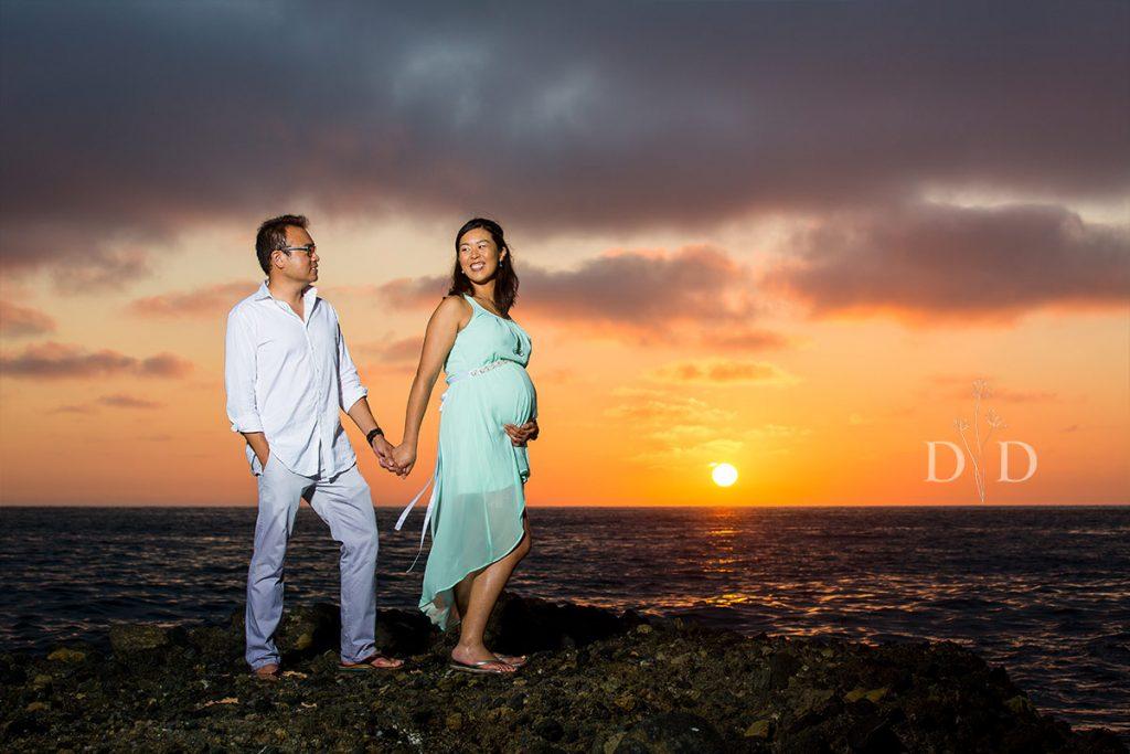 Laguna Beach Maternity Photos