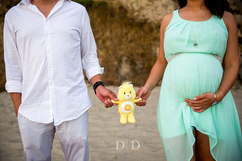 Maternity Photography Stuffed Bear