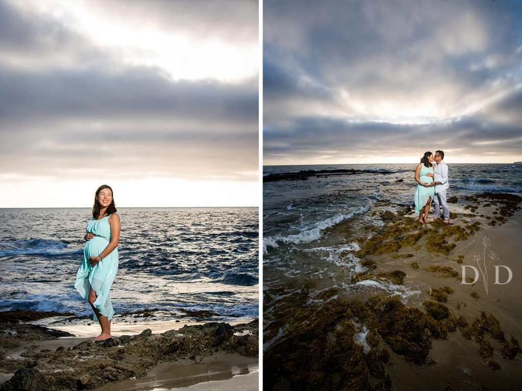 Victoria Beach Maternity Photos
