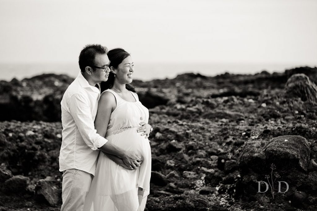 Maternity Photography Black and White