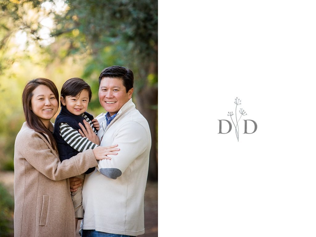Family Photos at the Cal State Fullerton Arboretum