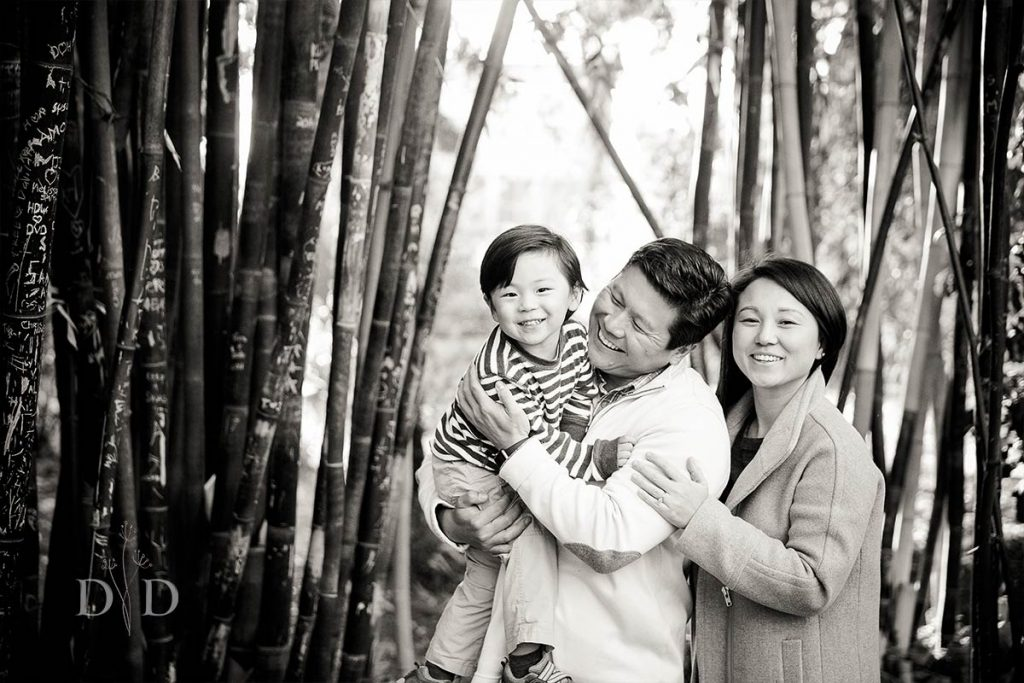 Family Photography with Bamboo