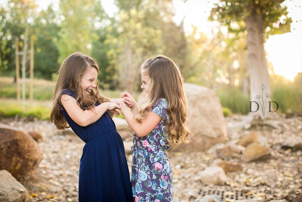 Two Daughters Family Photography
