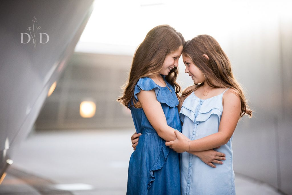 Family Photography of Two Sisters Los Angeles