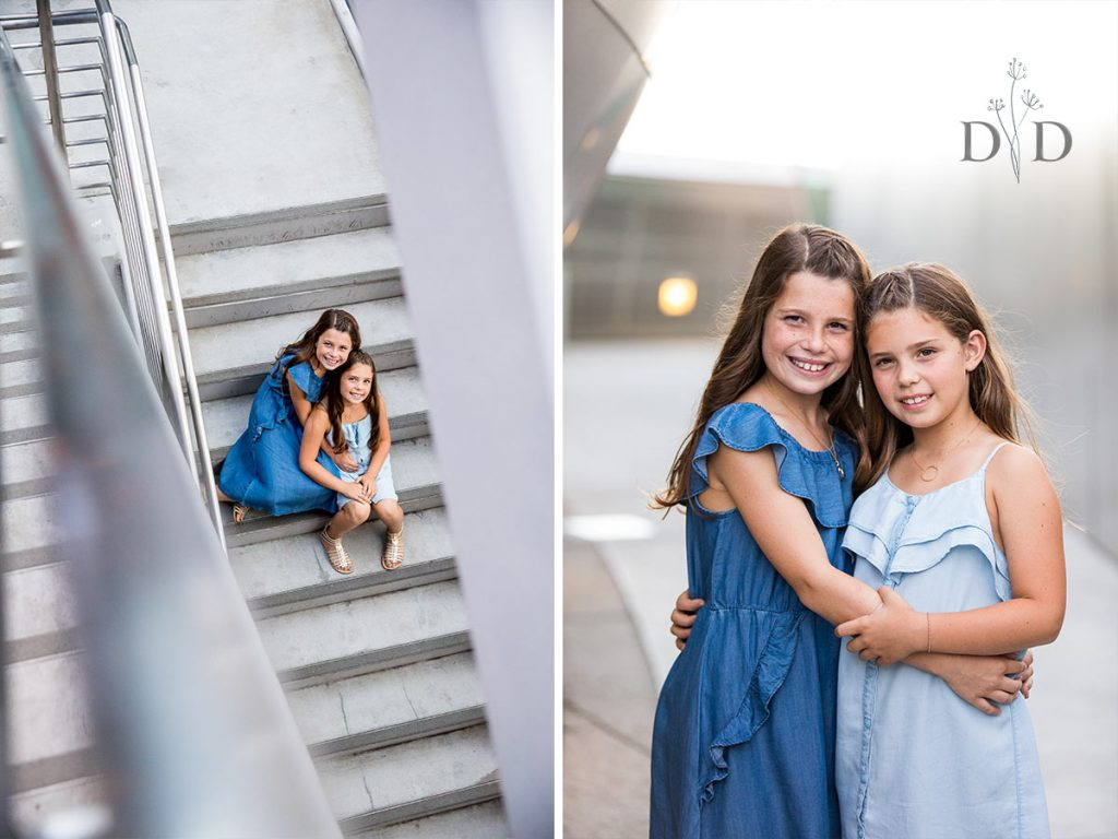 Family Photos of Two Sisters