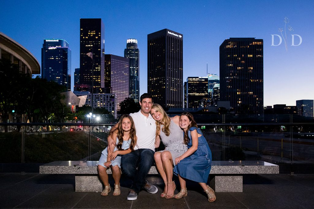 Family Photography Downtown Los Angeles