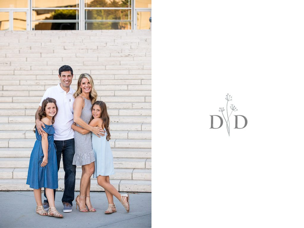 Walt Disney Concert Hall Family Photos Front Steps