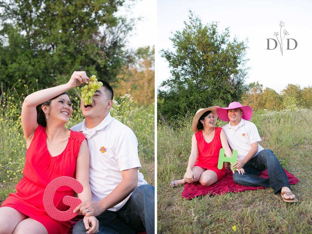 Maternity Photography Grapes Hats