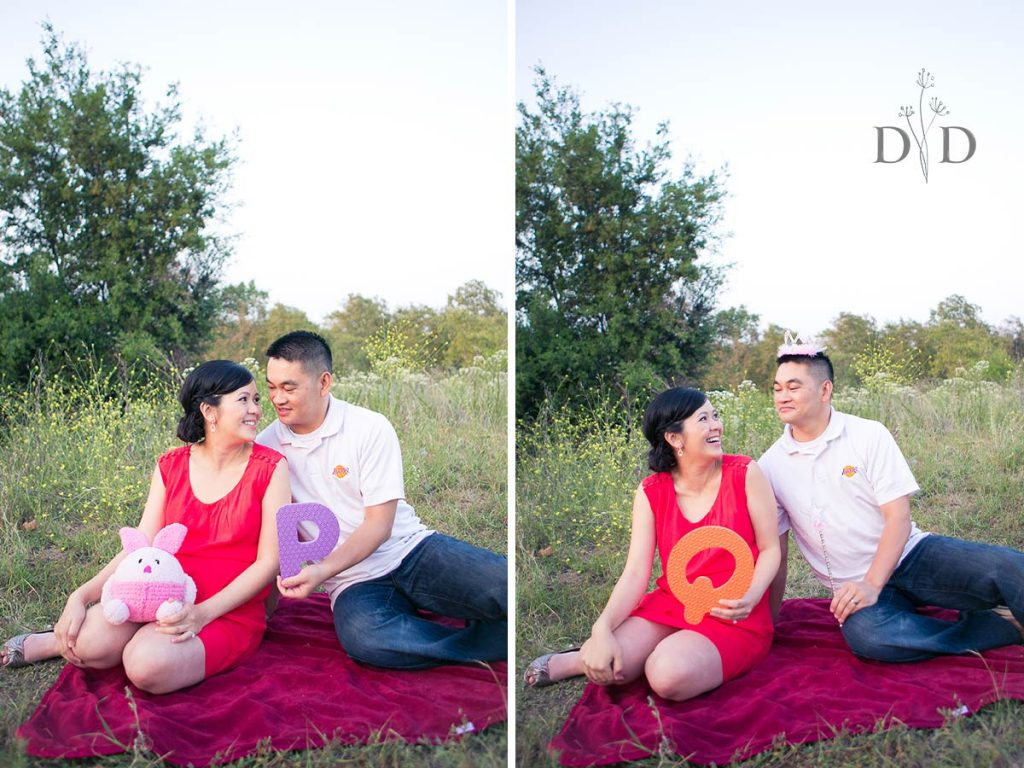 Maternity Photography P for Piglet