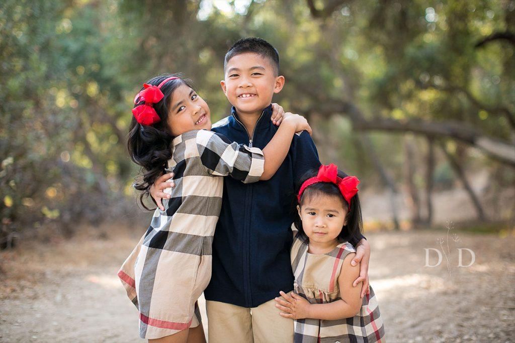 Three Siblings Family Photos