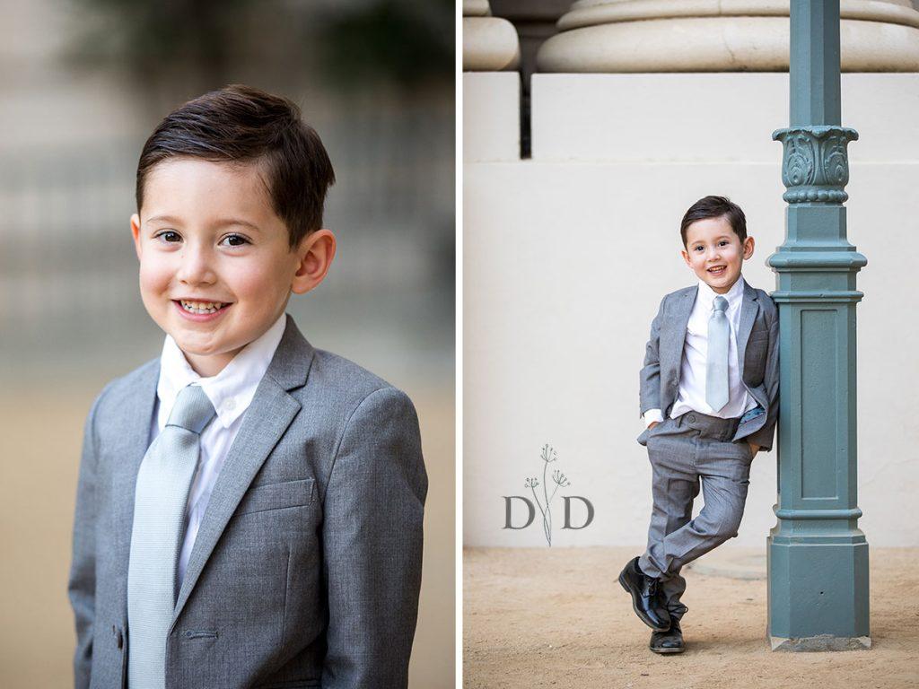 Pasadena City Hall Family Portrait of Son