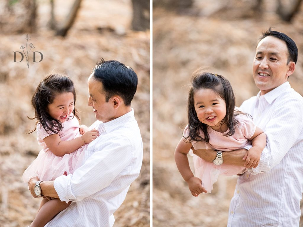 Dad and Daughter Family Photography San Dimas