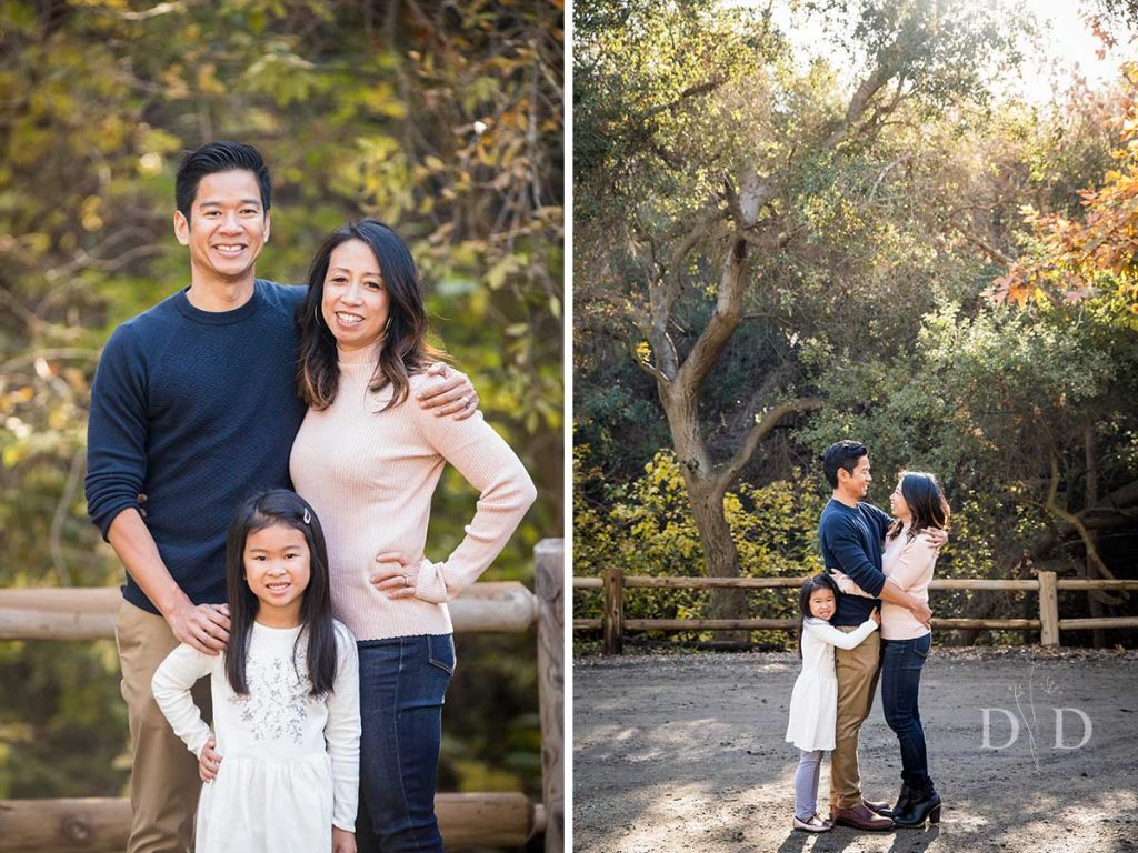 Walnut Creek Trail Family Portraits