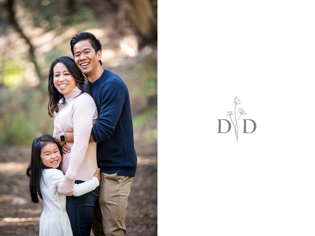 Family Photo at Walnut Creek Park
