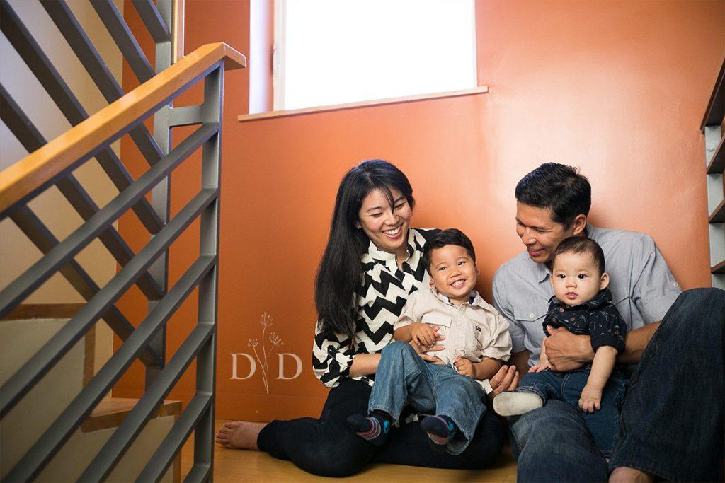 Family Photos at Home