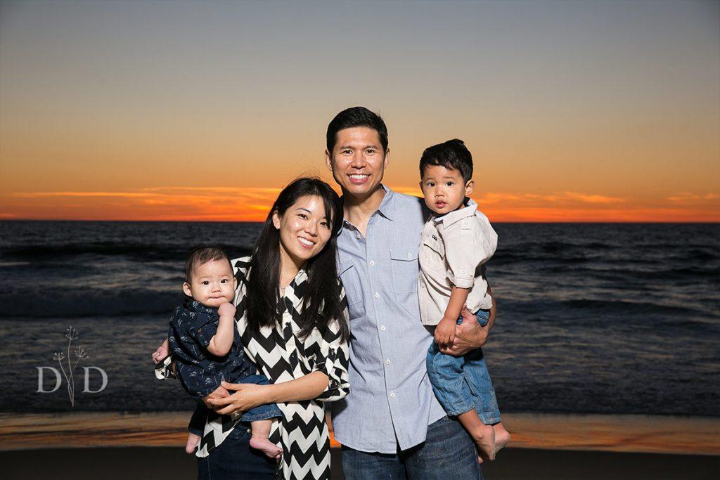 Manhattan Beach Family Photography Sunset