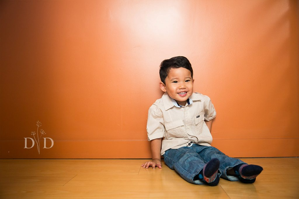 Child Portrait at Home