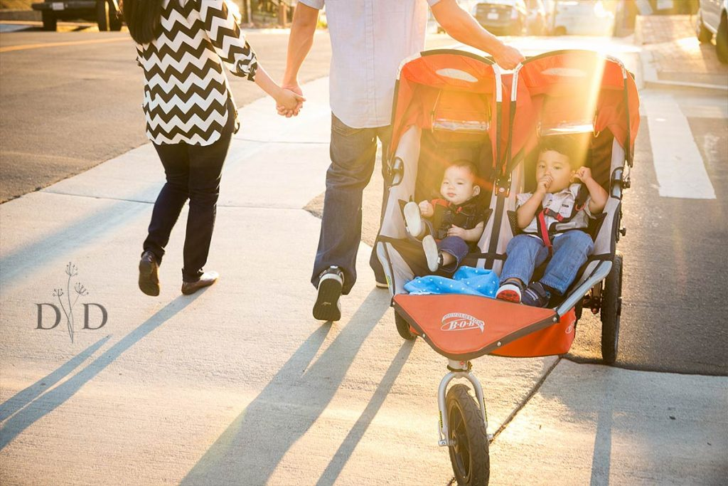 Family Photo with Stroller