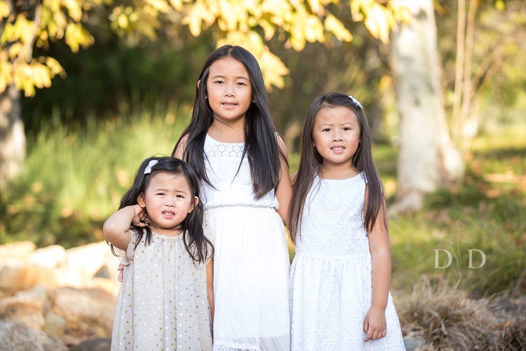 Three Daughters Family Photos
