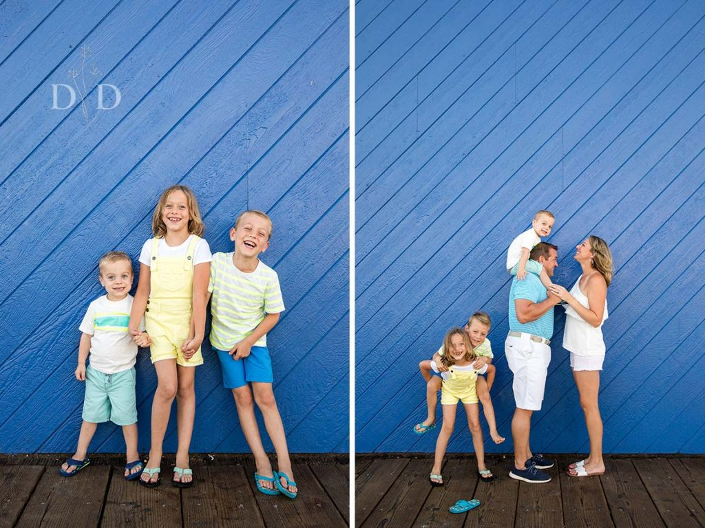 Santa Monica Pier Family Photography