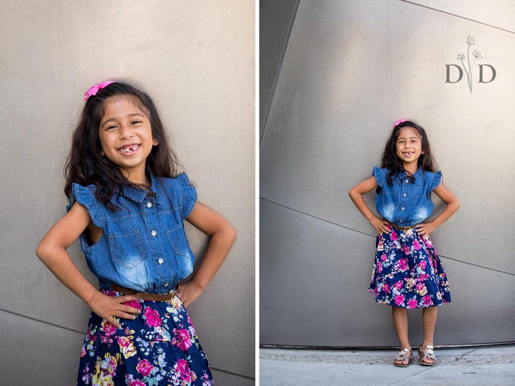 Cute Portrait of Daughter
