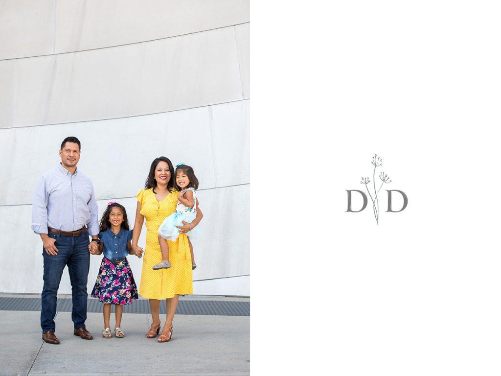 Walt Disney Concert Hall Family Photos
