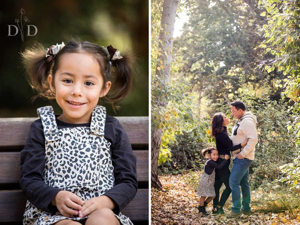 California Botanic Garden Family Photography