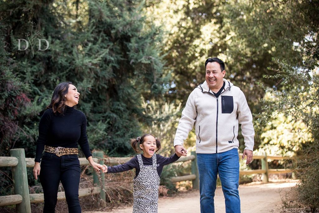 California Botanic Garden Family Photo