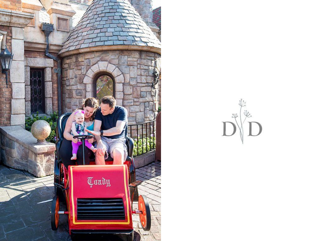 Disneyland Family Photos Fantasy Land