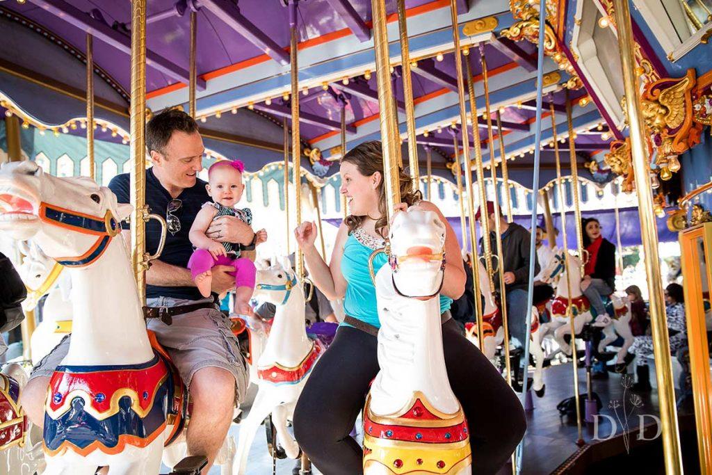 Disneyland Family Photos Carousel