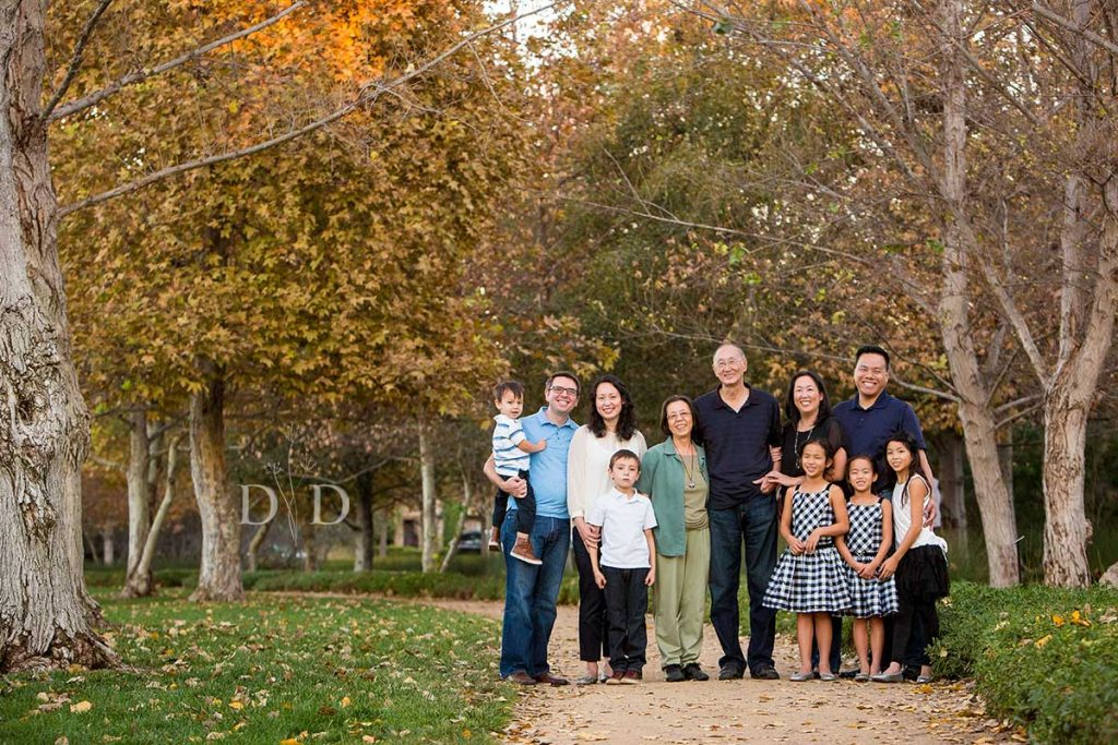 Large Family Portrait Orange County